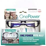 Dial Vision Reading Adjustable Eye Glasses Flex Clear Focus Auto Adjusting Optic