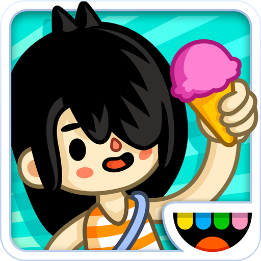 Toca Life: Vacation - App Gift Xray