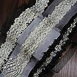 2017 Trlyc Bling Handmade bead ribbons DIY windbreaker dress decoration pearl belt 3D dimensional Br