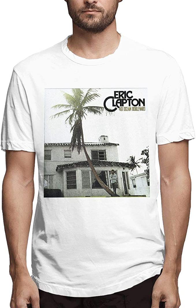 Eric Patrick Clapton Camiseta básica de algodón Suave clásico ...