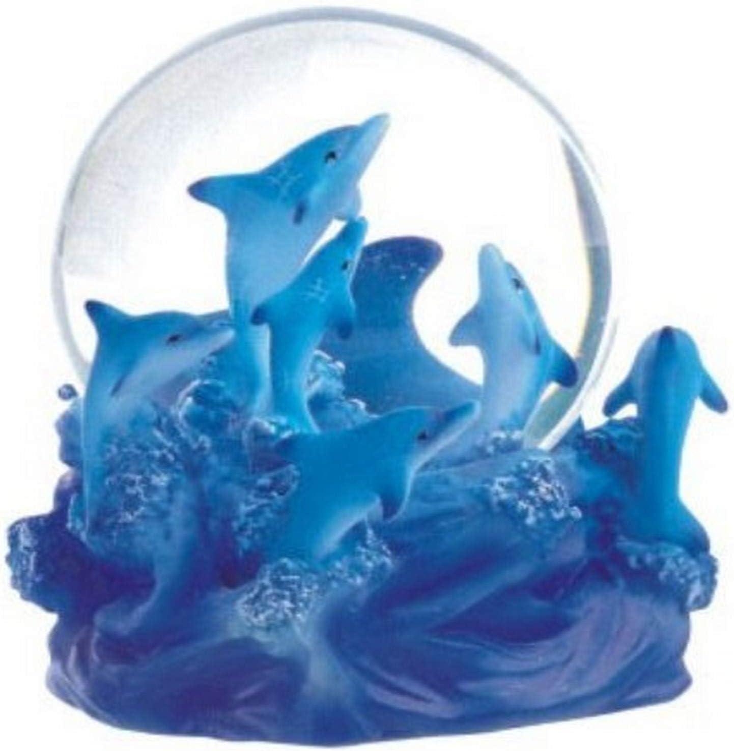 George S. Chen Imports Snow Globe Dolphin Collection Desk Figurine
