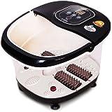 Foot SPA Bath Massager,ETTG Multifunction Heat Infrared Vibrating Air bubble Electric Foot Massager Foot Shiatsu for Foot, Ankle, Leg, Calf,etc.