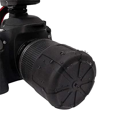 Protector de Lente Universal de Silicona, Accesorio para cámara de ...