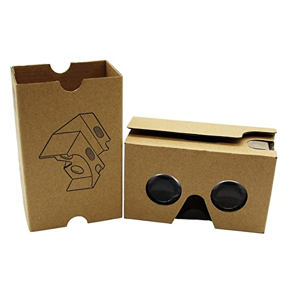 d79a29d09156 Amazon.com  2015 New Google Cardboard V2 3D VR Virtual Reality ...
