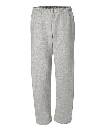 b3430f2ca Gildan Men's Elastic Waistband Double-Needle Hem Sweatpant, Small, ...
