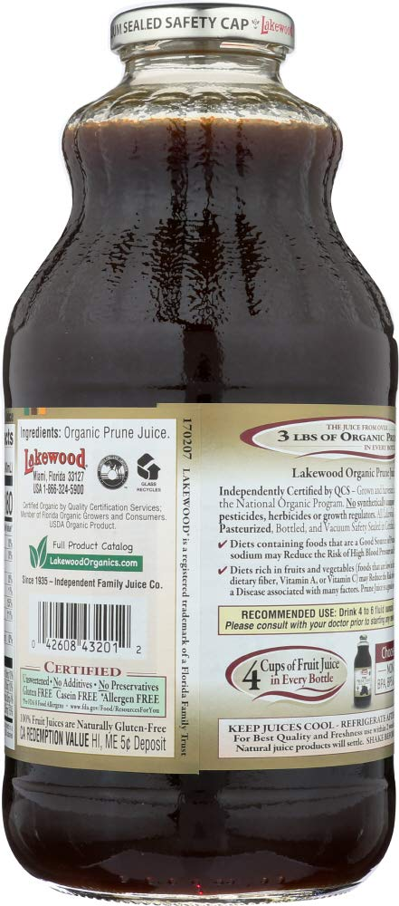 Amazon.com: StarSun Depot Organic Pure Prune Juice, 332 oz ...