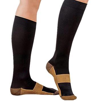 31f800ef14 Great Houseware Anti-Fatigue Compression Socks Foot Pain Relief Soft  Miracle Copper Anti Fatigue Magic