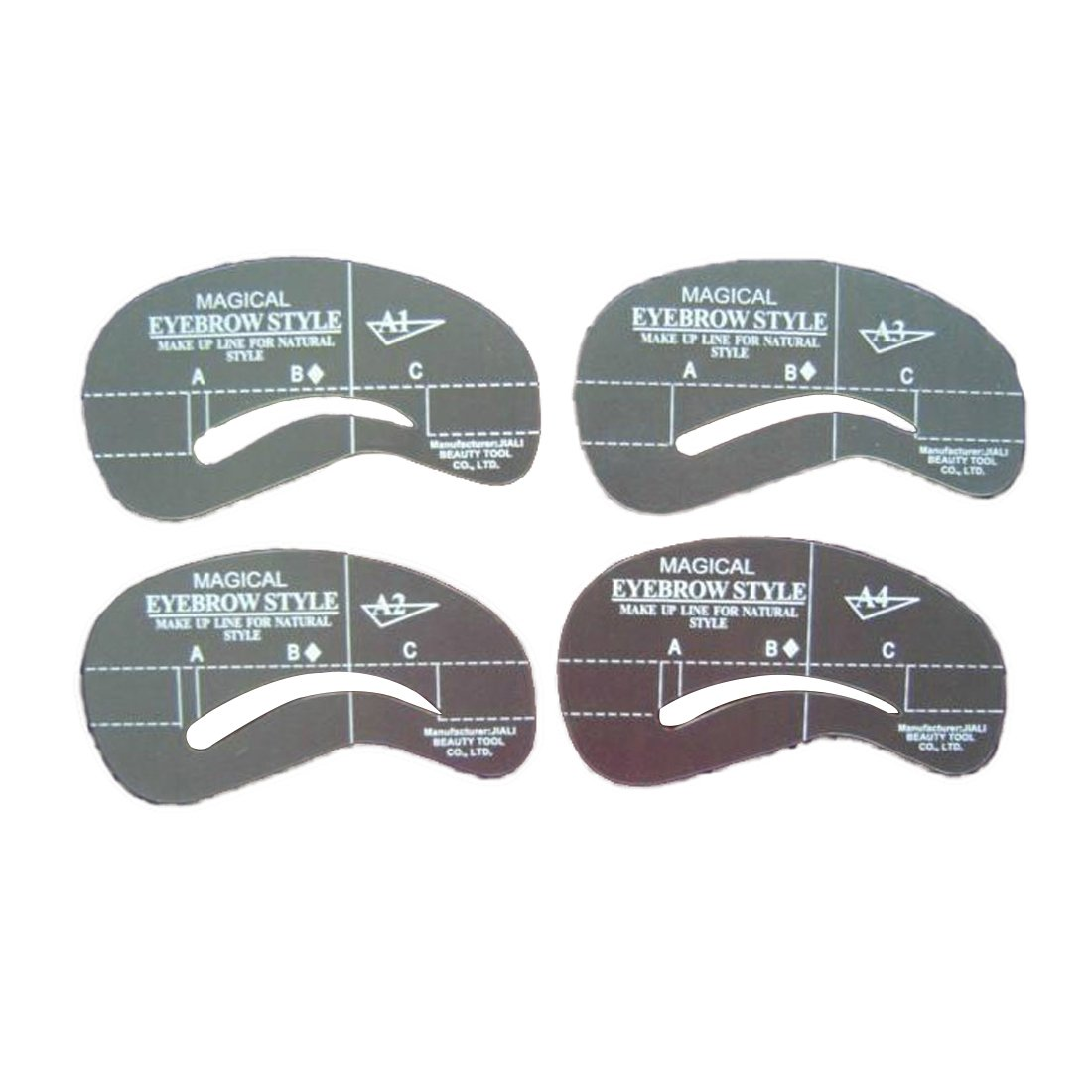 4pcs/set Styles Grooming Eyebrow Stencil Kit Makeup Tools DIY Beauty Stencil CY-Buity
