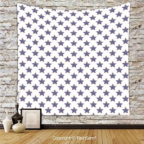 FashSam Tapestry Wall Hanging Stars Pattern National Independence