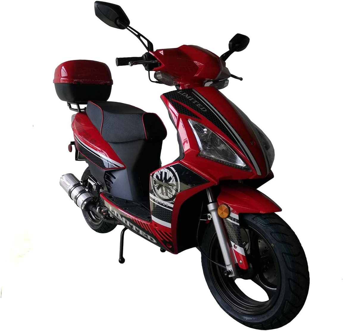 X-PRO 150cc Moped Scooter Gas Moped Scooter Road Master 150cc Adults Scooter