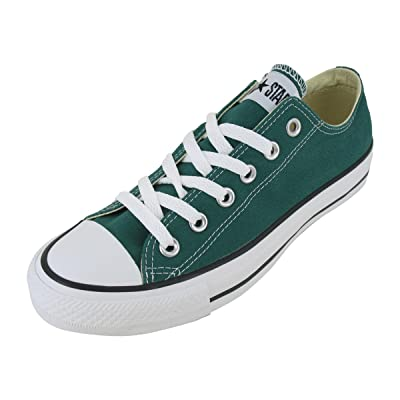 Converse Chuck Taylor All Star Lo Top Forest Green Canvas Shoes 136507F Mens 4/ womens 6 | Team Sports
