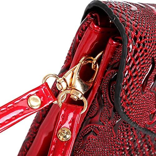 sera Borsa PU in a per da mini Red donna tracolla per Borsa borsa tracolla tracolla a pelle a RwqpUU