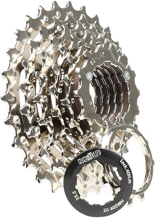 LIOOBO 1 Pc 7 Speed Nickel Plated Lightweight Cassette Bicycle Freewheel Cassette Flywheel MTB Cassette Sprocket