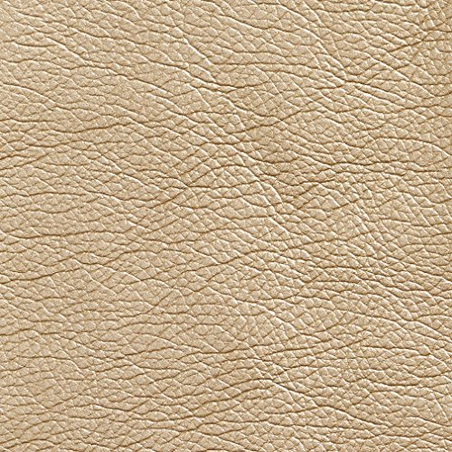 G424 Gold Metallic Breathable Leather Look And Feel Contemporary Upholstery By The ()