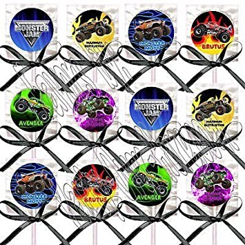 Amazon Com Monster Truck Party Favors Supplies Decorations Monster