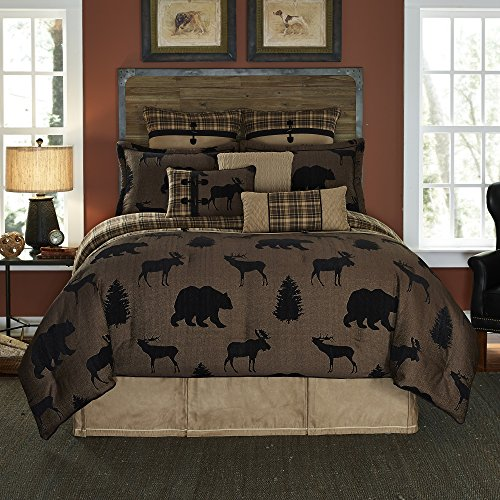 ille Jacquard woven Lodge 4-piece Comforter Set King (Summit King)
