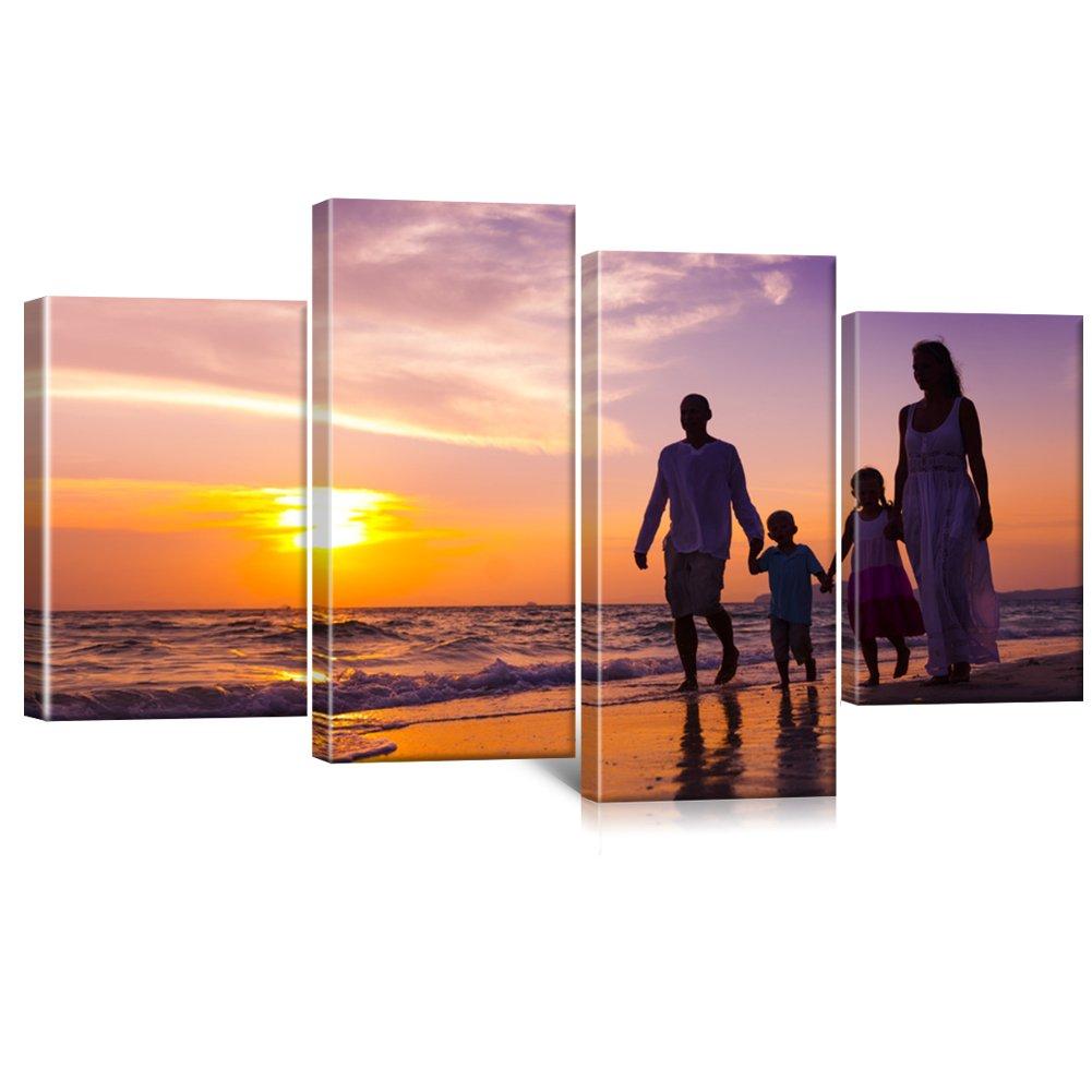 Ihr Foto auf Leinwand 140x80 cm SOFORT ONLINE VORSCHAU Ihr eigenes Bild auf Leinwand mit Keilrahmen - Wandbild mit Wunschmotiv - Persönliches Kunstdruck
