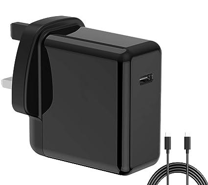 DHMXDC adaptador de cargador de viaje de 45 W PD con cable ...