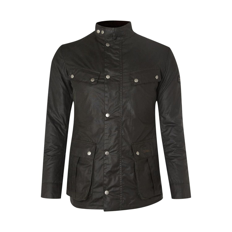バーブァー アウター ジャケット&ブルゾン Wax International Duke Jacket sage [並行輸入品] B072F9N525  Medium