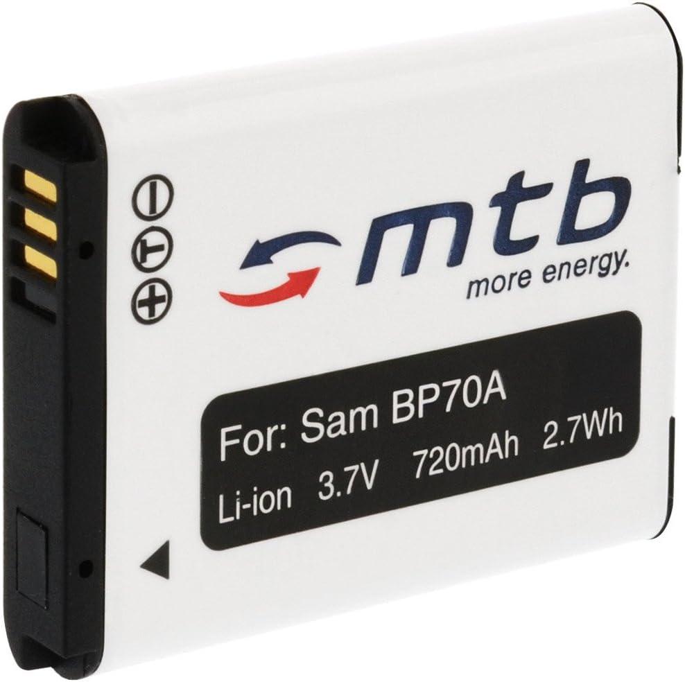 BP-70A Cargador de Batería para Samsung Digimax ST67 ST68 ST70 ST71 ST72 ST73 ST75