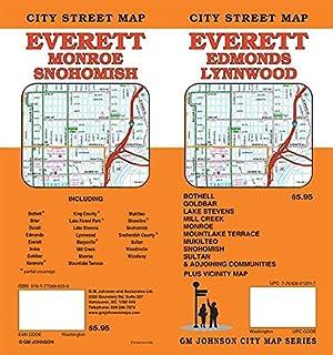Everett Edmonds Lynnwood Wa Street Map Gm Johnson