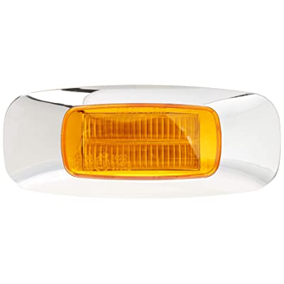 GG Grand General 74720 3-1/2 Inch Rect. Prime Amber 4 Led Dual Function Light: Automotive