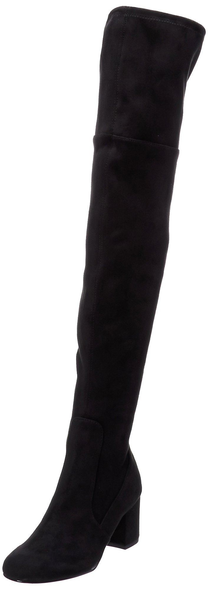 Sam Edelman Women's Varona Over The Knee Boot, Black, 6.5 Medium US