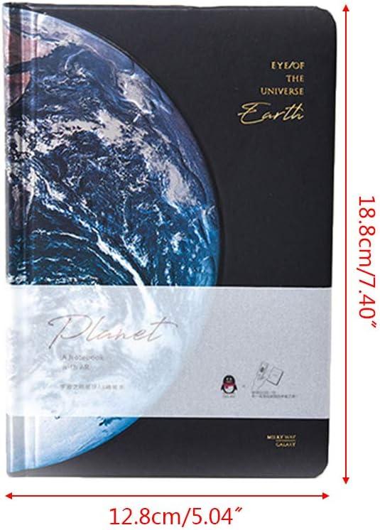 S-TROUBLE Student Briefpapier Sch/öne Universum Hardcover linierte Papiere Notizbuch Sternenhimmel Journal Tagebuch Notizblock Jungen Herren Schreibwaren Geschenk