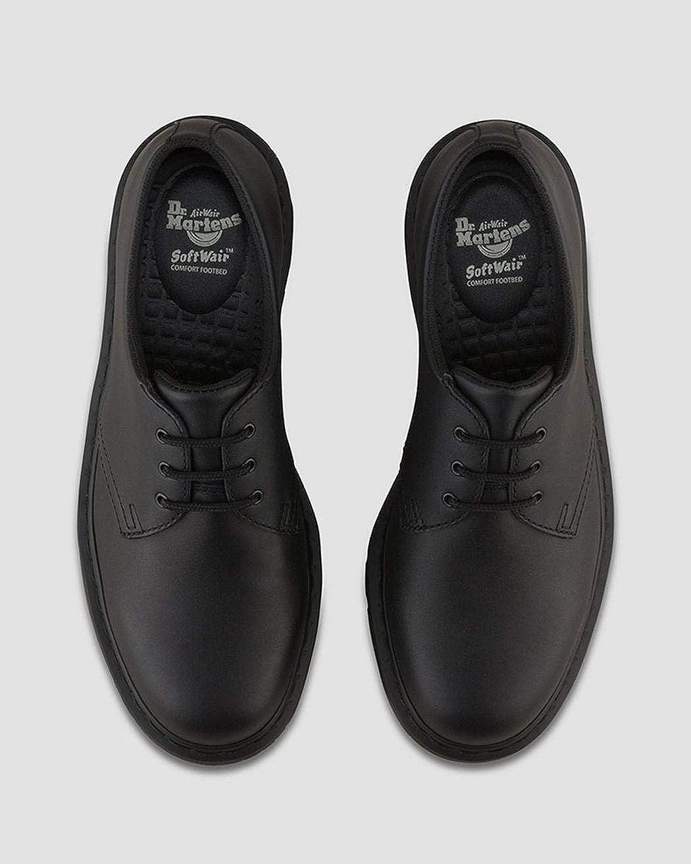 Martens Black Unisex Mono 1461 Slip