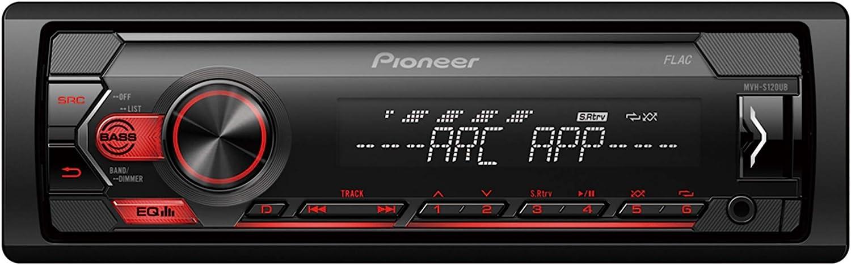 Pioneer MVH-S120UB Autoradio, Negro