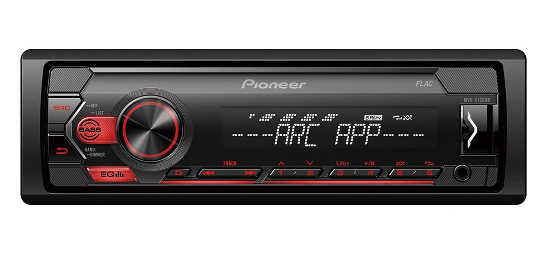 Pioneer MVH-S120UB Autoradio Noir