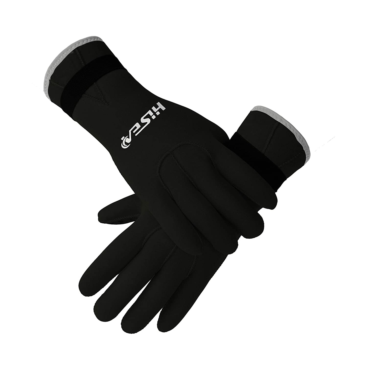 Scubadonkey Neoprene Diving Gloves Wetsuit Scuba Gloves 3MM for Men Women Kids Outlet for Kayaking Surfing Sailing Snorkeling Swimming Canoeing Fishing Diving and Other Water Sports