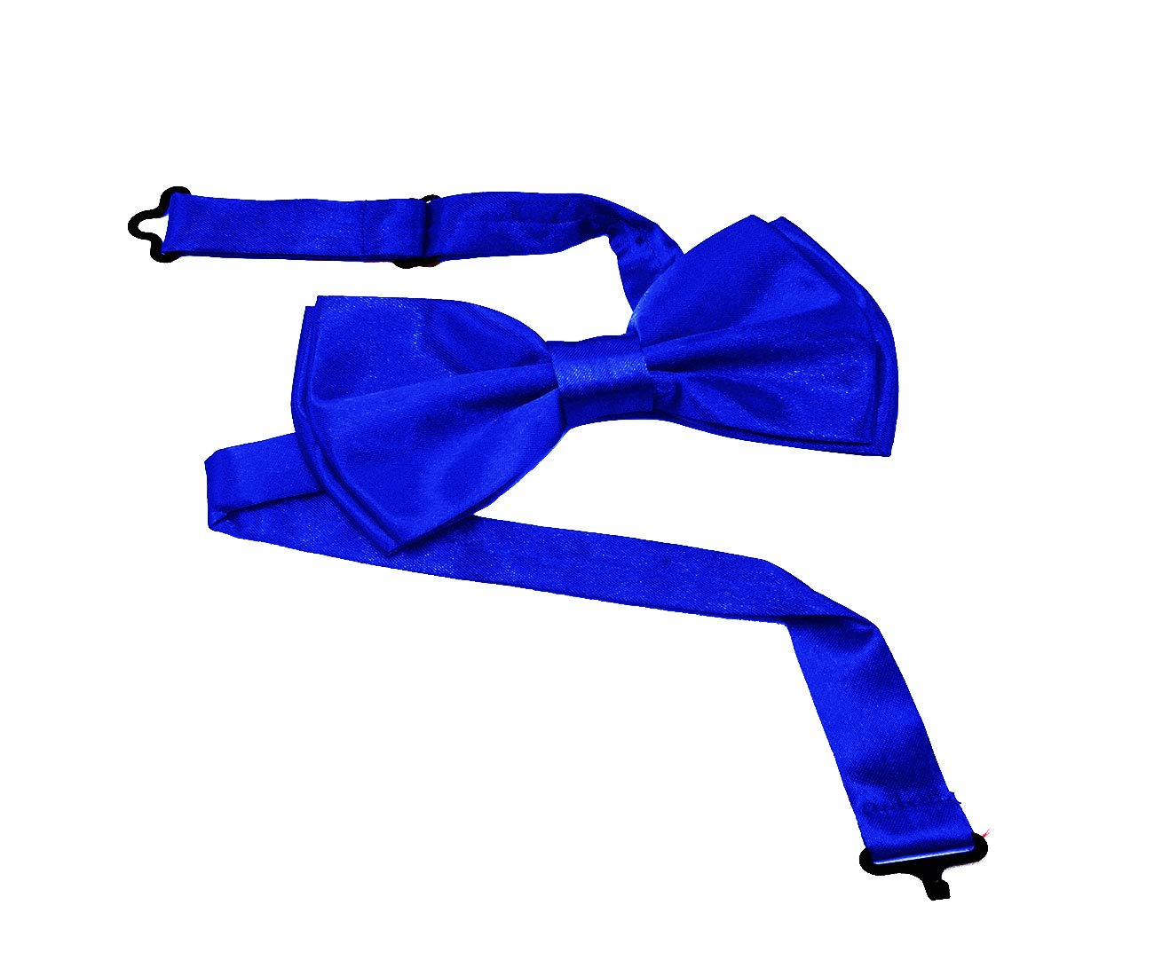 Bow Tie And Suspenders For Men | Adjustable, With Strong Clips & Gift Box | Suspender And Bow Tie Set For Men | Premium Quality | (Blue Set)