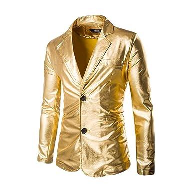 Traje De Hombre Slim Stamping festiva Fit Gold Ropa Hot Print ...
