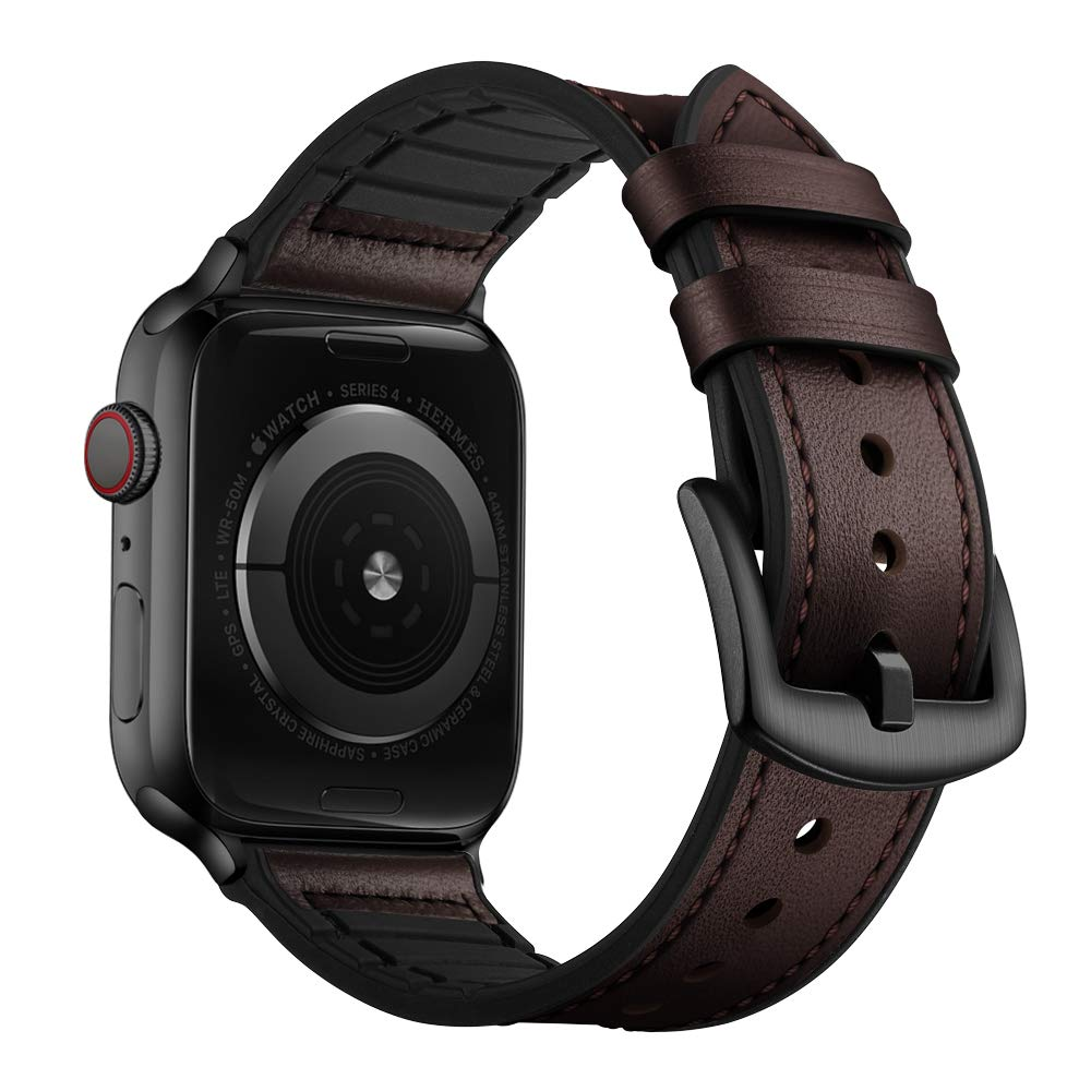 Malla Cuero para Apple Watch (42/44mm) OUHENG [7Q7YRBJY]