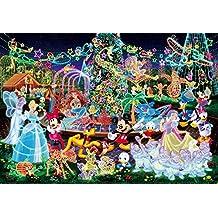1000 piece jigsaw puzzle the world's smallest Disney Magical Illumination shining Jigsaw (29.7x42cm)
