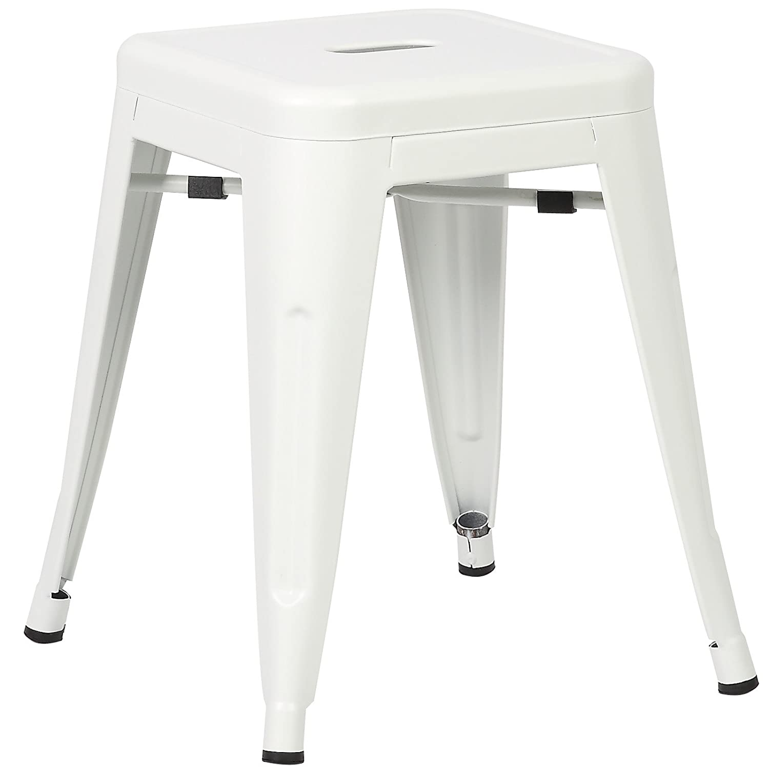 Poly and Bark Trattoria 18 Stool in White