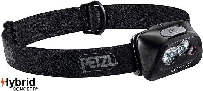 Petzl Actik Core - Linterna (Linterna con cinta para cabeza, Black ...