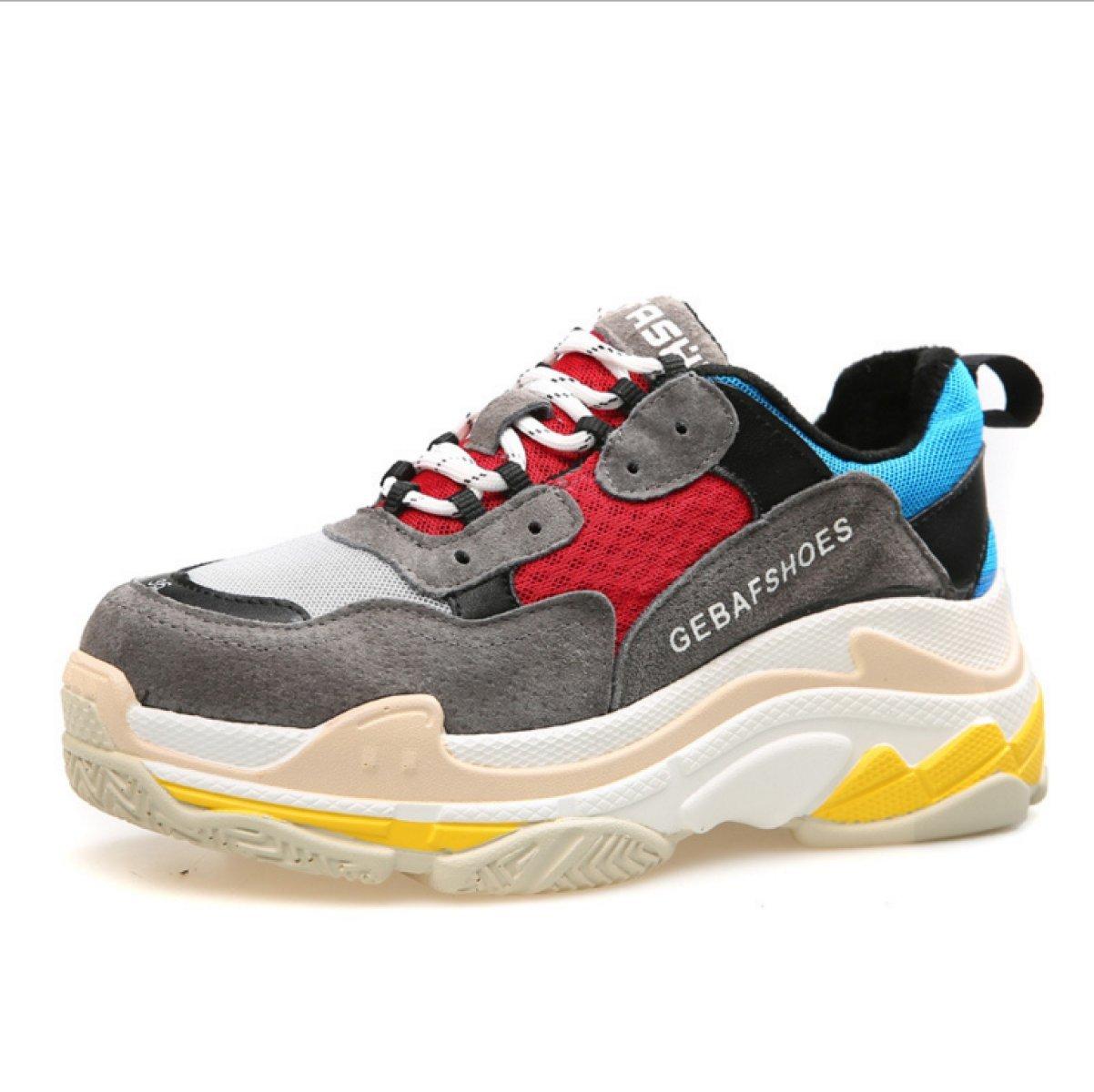 Yrps Zapatillas De Deporte Femeninas De La Primavera Zapatos Casuales Salvajes De La Muchacha Zapatillas De Deporte De La Moda 36 EU|C