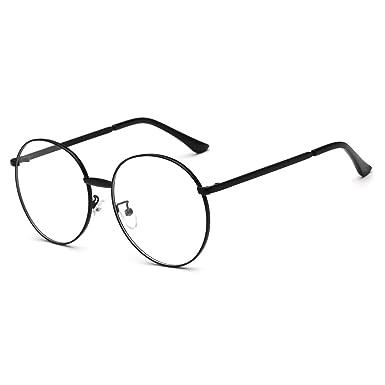 Amazon.com: Prescription Optical Glasses Frame Oversized Retro Round ...