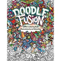 Doodle Fusion: Zifflin's Coloring Book