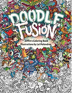 doodle fusion zifflins coloring book volume - Doodle Coloring Book