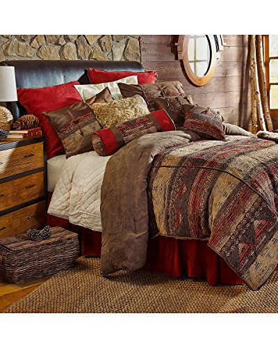 HiEnd Accents Sierra Lodge Bedding, King by HiEnd Accents