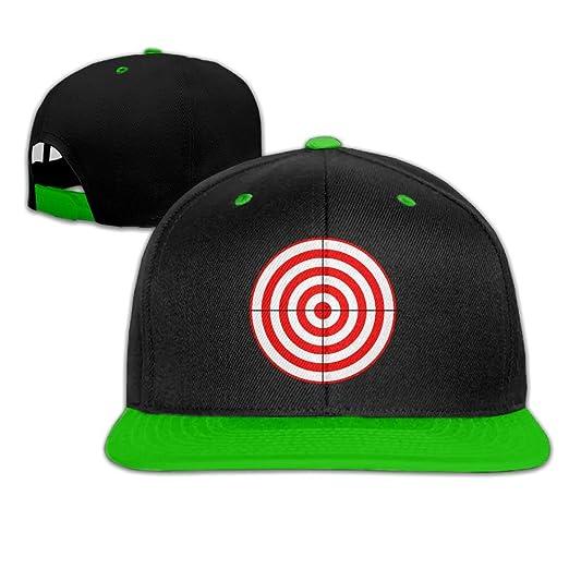 0ed0b66a430ac Amazon.com  Baseball Caps Gun Target Cool Hip Hop Hats  Clothing