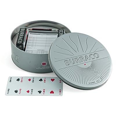 Juego Ju00352 - Jeu De Cartes - Burraco Tin Box