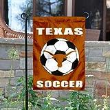 Texas Longhorns Soccer Garden Flag and Yard Banner