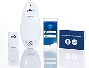 pHin Smart Water Care Monitor for Pools, Hot Tubs and Spas - 24/7 Continuous Water Testing + Know When to Add Chemicals with Automatic App Notifications (New & Improved 2019 Edition)