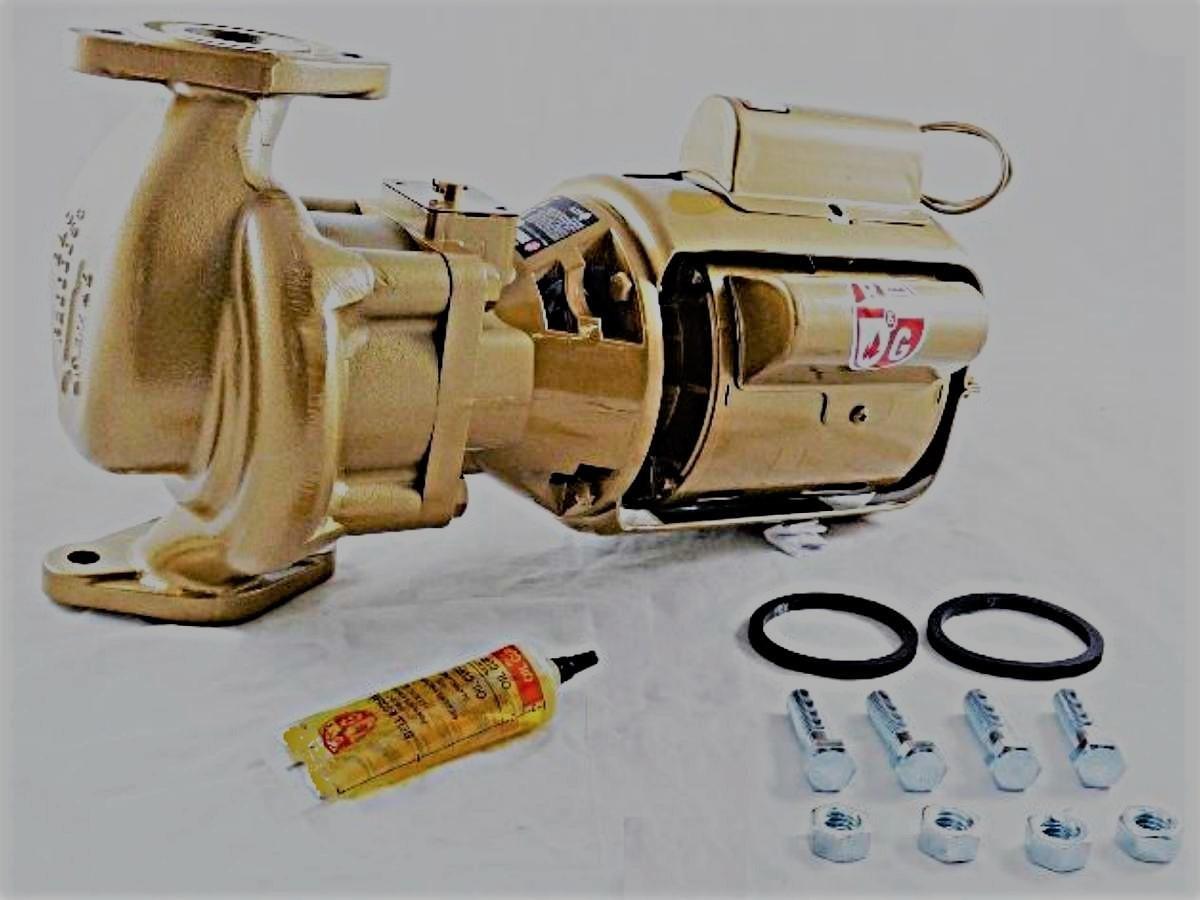Bell & Gossett 102213LF 1/6 HP HV BNFI Bronze Circulator Pump by Bell & Gossett