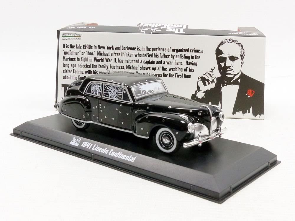 -1941 Lincoln Continental 1 Greenlight The Pate 1972 schwarz