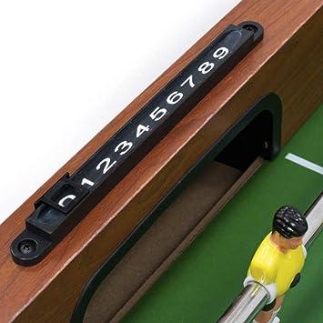 PL Ociotrends Devessport - Multijuego 3 en 1 - Futbolín, Billar, Ping-Pong, Fácil Montaje, Incluye nivelador, Barras metálicas, Mango de plástico, Dispone de marcadores - Medidas: 120 x 61 x 80 Cm: Amazon.es: Juguetes y juegos